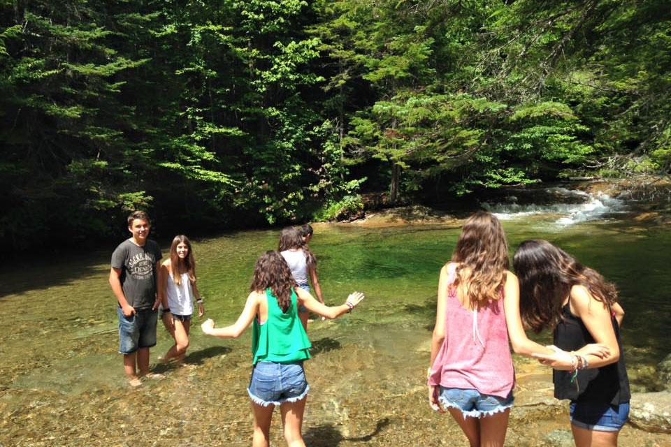 kids pond hike